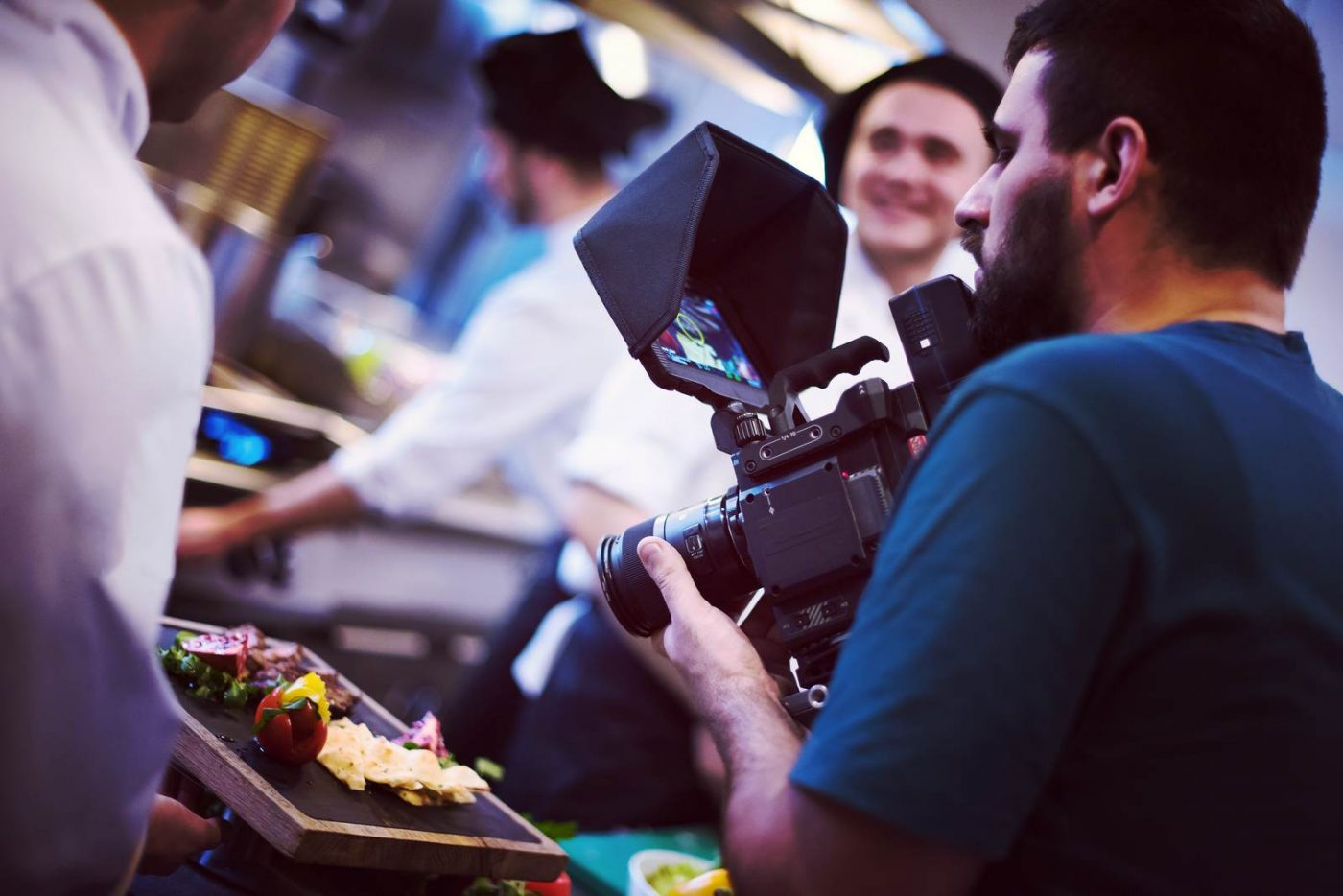 commercial videography team shoots video in Dallas